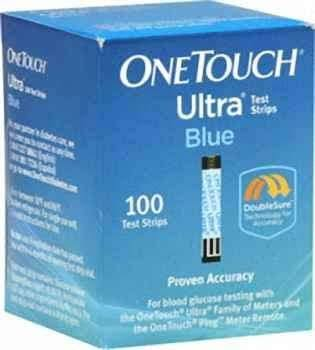 One Touch Ultra Test Stripe - Blue, 100 Strips