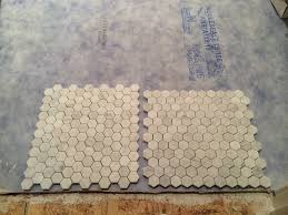 Oracle Tile And Stone Amazon by A Marble Hexagon Layout Decision And Tactics For Install Old