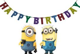 Happy Birthday Minions Gif Image