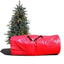 Strong Camel Large Artificial Christmas Tree Carry Storage Bag Holiday Clean Up 9 Red