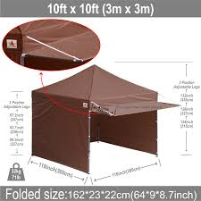 10x10 AbcCanopy Easy Pop Up Canopy Tent Instant Shelter Deluxe ... 3x3m Pop Up Gazebo Waterproof Garden Marquee Awning Party Tent Uk Wedding Canopy Pergola Lweight Awesome Popup China Practical Car Roof Top With Photos X10 Abccanopy Easy Up Instant Shelter Deluxe Bgplog Beautiful Tuff Concepts Kampa Air Pro 340 Eriba Caravan 2018 2x2m 3x3m Gazebos Ideas