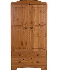 Leslie Dame Media Storage Cabinet Uk by Buy Nordic 2 Door 2 Drawer Wardrobe Pine At Argos Co Uk Your
