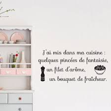 dans ma cuisine sticker citation j ai mis dans ma cuisine stickers citations
