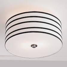 Stripe Shade Ceiling Light Black White Ceiling Lights