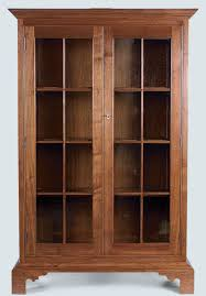 Glass Front Bookcase Finewoodworking Intended For Fronted With Regard To Bookcases Decorations 8