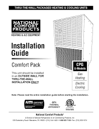 Installation Guide National fort Products