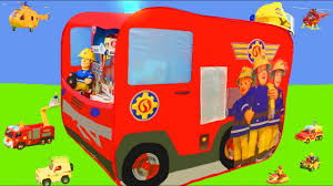 Fireman Sam Unboxing: Fire Truck Jupiter Play Tent, Toy Vehicles ... Fire Engine Truck Pop Up Play Tent Foldable Inoutdoor Kiddiewinkles Personalised Childrens At John New Arrival Portable Kids Indoor Outdoor Paw Patrol Chase Police Cruiser Products Pinterest Amazoncom Whoo Toys Large Red Popup Ryan Pretend Play With Vehicle Youtube Playhut Paw Marshall Playhouse 51603nk4t Liberty Imports Bed Home Design Ideas 2in1 Interchangeable School Busfire Walmartcom Popup