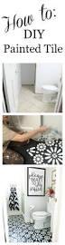Removing Asbestos Floor Tiles In California by Best 25 Painting Tile Floors Ideas On Pinterest Painting Tiles