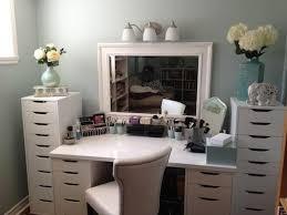 Diy Vanity Desk With Lights by Furniture Graceful Makeup Storage Ikea Diy Vanity Boxy Foxy