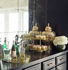 Z Gallerie Glass Dresser by Luxurious Dining Room Makeover Popsugar Home