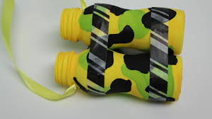 DIY Recycling Crafts For Kids Binoculars Out Of Plastic Bottles Recycled