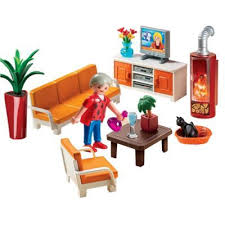 playmobil reg comfortable living room set playmobil
