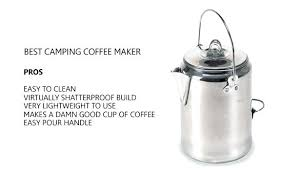 Coffee Maker For Camping Best Reviews Enamel Pot Coleman