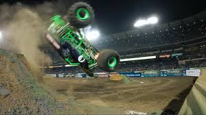 100 Monster Truck Freestyle Grave Digger Wins Anaheim Freestyle 2016 Jam Jam