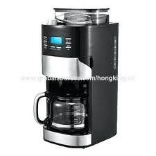 Automatic Coffee Maker With Grinder Single Serve Brewing System