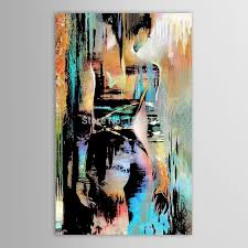 Hand Painted Canvas Modernism Abstract Nude Girls Back Art Painting For Living Room Bedroom Decor Paintings