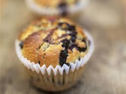 frühstücks muffins mit blaubeeren