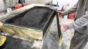 concrete central concrete countertops tabletops sinks and