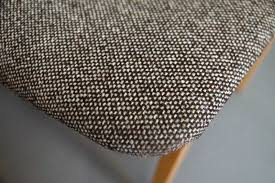 set 6x polsterstuhl esszimmer stuhl buche neu gepolstert vintage 50er 60er