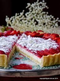 strawberryfields forever tarte mit weißer schokolade und