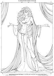 Mother Gothel Is One Of Disneys Newer Villains But The Story Rapunzel Quite Adult Coloring PagesColoring BooksDeviant