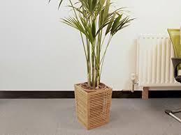 badezimmer abfallbehälter h 32 cm aus bambus ohne deckel