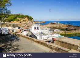 port des pecheurs biarritz small boats at port des pêcheurs fishermen port biarritz