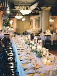 Head Table Garland And Candles