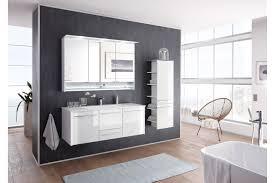 leonardo living badezimmer bad 116 glas optiwhite möbel