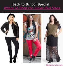 BACK TO SCHOOL SPECIAL WHERE SHOP FOR JUNIOR PLUS SIZE CLOTHES