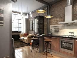 100 Brick Loft Apartments Three Dark Colored With Exposed Walls Wall
