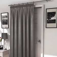 Thermal Lined Curtains Ireland by Harrow Silver Thermal Lined Door Curtain Harry Corry Limited