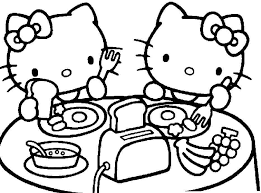 Printable Free Colouring Pages Cartoon Hello Kitty For Girls Boys
