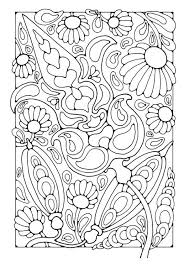 Free Nature Coloring Pages Artistic Page