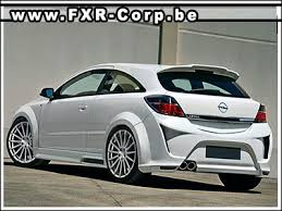 kits carrosseries et accessoires opel astra h tuning