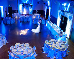 Ice Blue Winter Wedding