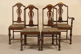 SOLD - Set Of 4 Tudor 1920's Antique Dining Chairs, New Upholstery ... Set Of 8 Mahogany Ladder Back Ding Chairs Loveday Antiques West Saint Paul Vintage Finds Art Deco And Retro Fniture Of The 50s 60s Riva 1920 Boss Executive Table 810 Seater Walnut Heals French Louis Xiv Style Circa 1920s Art Deco Console Antique Fniture Sold 4 Tudor New Upholstery Elegant Pair Felix Kayser Antrosophical Ash Wood Chairs From Sothebys Home Designer Fniture John Hutton 0415antiqueshtml Mad For Midcentury More American Martinsville Info