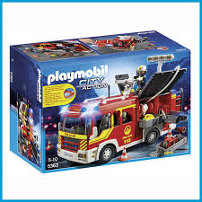 PLAYMOBIL Fire Engine With Lights And Sound Pmb5363 | EBay Playmobil Take Along Fire Station Toysrus Child Toy 5337 City Action Airport Engine With Lights Trucks For Children Kids With Tomica Voov Ladder Unit And Sound 5362 Playmobil Canada Rescue Playset Walmart Amazoncom Toys Games Ambulance Fire Truck Editorial Stock Photo Image Of Department Truck Best 2018 Pmb5363 Ebay Peters Kensington