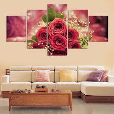 5xmodern wohnzimmer dekorative wandmalerei set