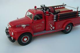 100 Model Fire Trucks Custom