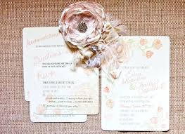 Fresh Wedding Invitations Country Chic Or Shabby Themed A 81