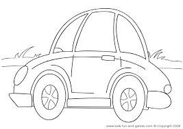 Car Coloring Pages Pictures In Gallery Page