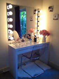 brilliant mirror vanity lights ideas for making your own vanity