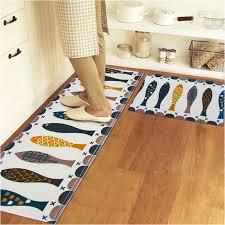 carpette de cuisine tapis de cuisine orange simple tapis de cuisine macarons beige