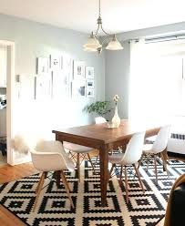 Carpet Under Dining Table Ordinary Dining Table Rugs Dining Room