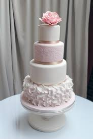 Contemporary Wedding Cake Designs Use Colour And Simple Elegance To Show Unusual Striking Sugarpaste Flowers At Their Best