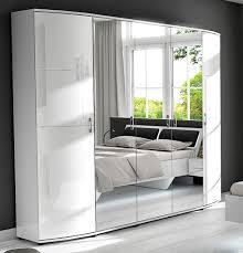 blackpool kleiderschrank 5 türig hochglanz weiß hochglanz weiß günstig möbel küchen büromöbel kaufen froschkönig24