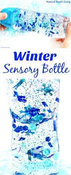 How To Make An Easy Winter Sensory Bottle That Kids Love