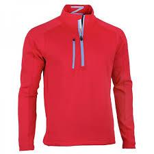 new zero restriction men u0027s z500 1 4 zip pullover jacket golf coat