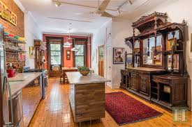 wood detailing galore at this bed stuy brownstone asking 2
